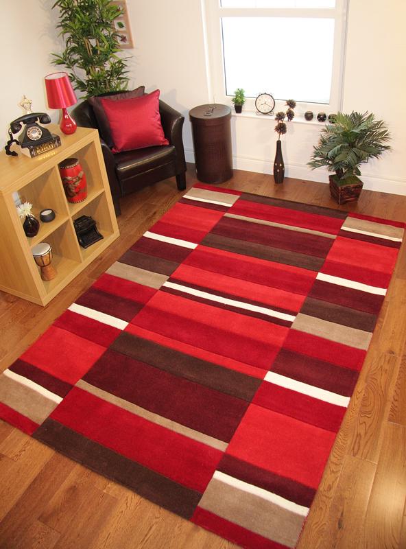 Tappeto rosso soggiorno la scelta giusta variata sul design della casa - Tappeto rosso ikea ...