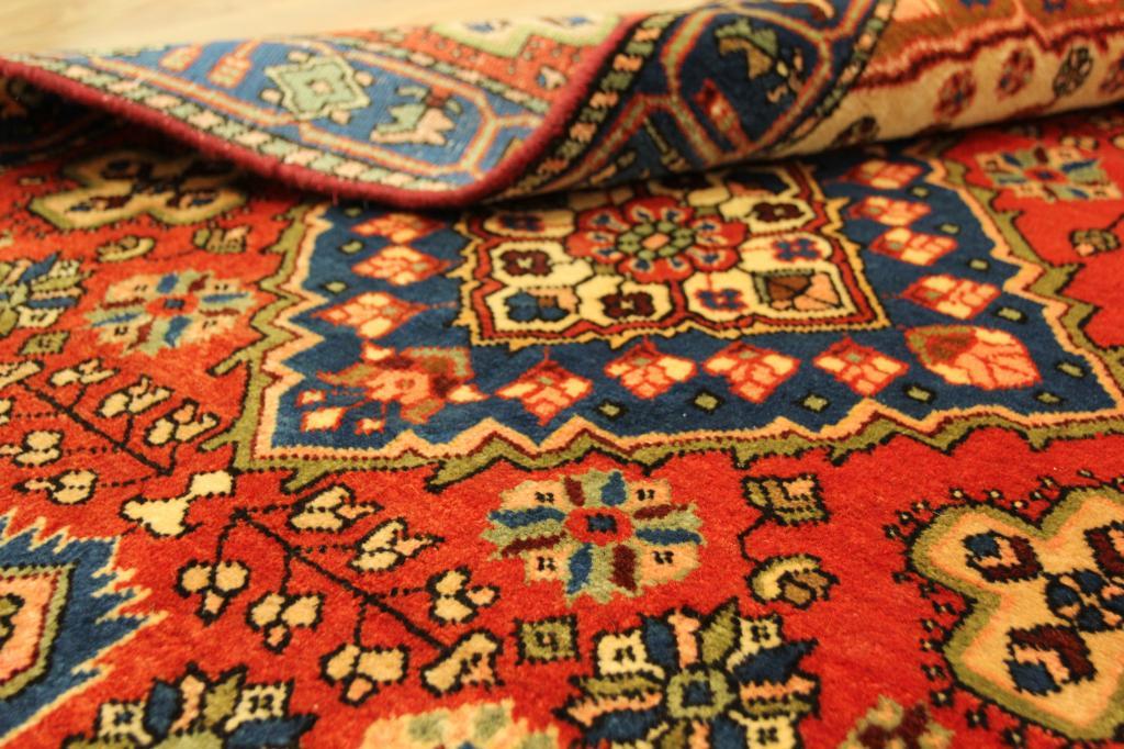 Raro handmade peque o oriental alfombra de lana rojo for Que significa alfombra