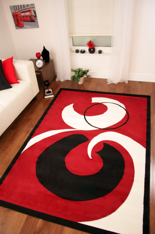 small large red black cream modern shiraz rug quality new cheap mats 5 sizes ebay. Black Bedroom Furniture Sets. Home Design Ideas
