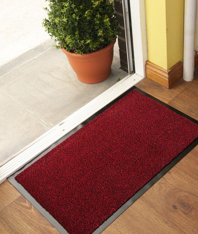 Http Www Ebay Co Uk Itm Red Hard Wearing Kitchen Non Slip Machine Washable Rubber Barrier Mat 12 Sizes 180920866956