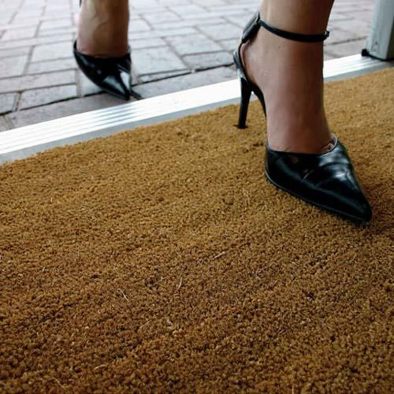 coir mat coconut door matting heavy duty 17mm 1m 2m wide