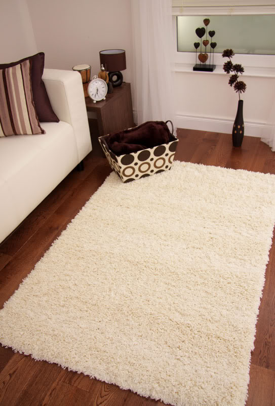 Thick Light Cream Ivory Large Gy Rug Long Twisted Pile Area Rugs Stockholm