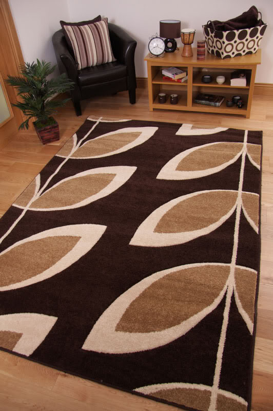 Free Tapis Salon Orange Tapis Tendance Moderne Motif Feuille Marron Fonc  Beige Crme Surface Sculpt Ebay With Tapis Orange Et Marron With Tapis Salon  Orange ...