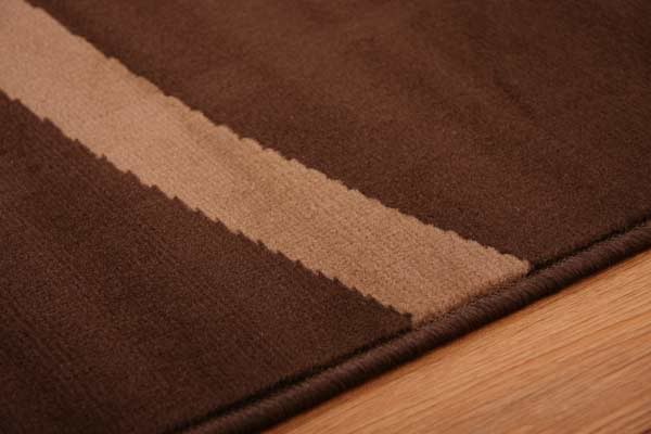 Chocolate brown dark quality cheap rugs modern swirl mats for Cheap good quality rugs