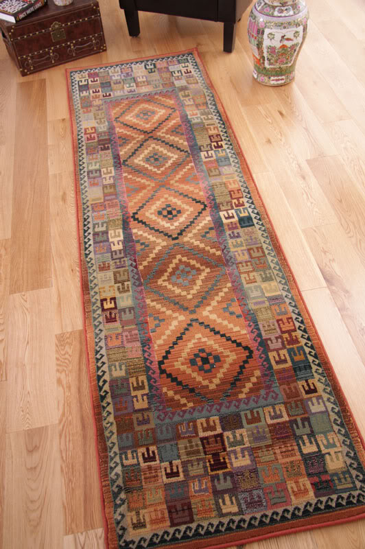Long Foyer Rugs : My foyer has a ridiculously long wall what can i do with