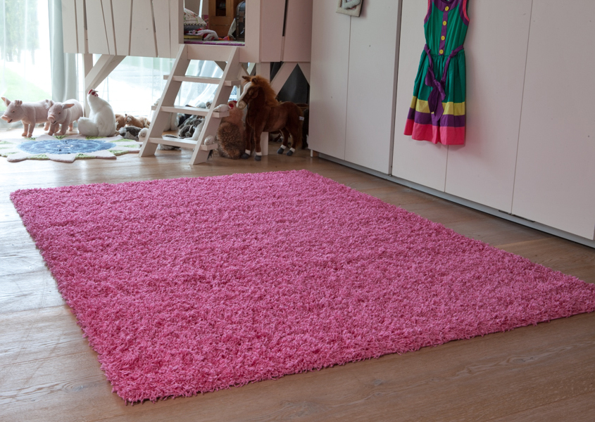 small large pink shaggy rugs easy clean soft kids bedroom rugs new non