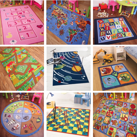 children learning rugs educational play mat kids interactive school activity rug ebay. Black Bedroom Furniture Sets. Home Design Ideas