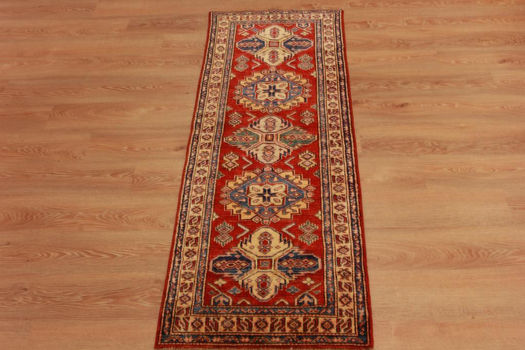 Red Foyer Rug : Unique handmade wool long oriental runner rug red persian