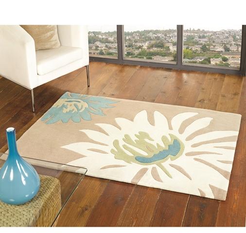 preiswert natur beige t rkis weich schwer 100 acryl blumenmuster nicht schuppen ebay. Black Bedroom Furniture Sets. Home Design Ideas