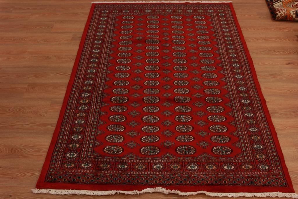 Brillante alta gama rojo geom trico persa rea de alfombra for Alfombra persa roja