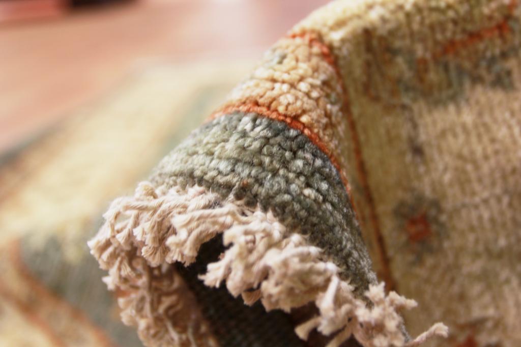 Peque o de lujo alta gama lana pakist n ziegler alfombra for Tejido persa