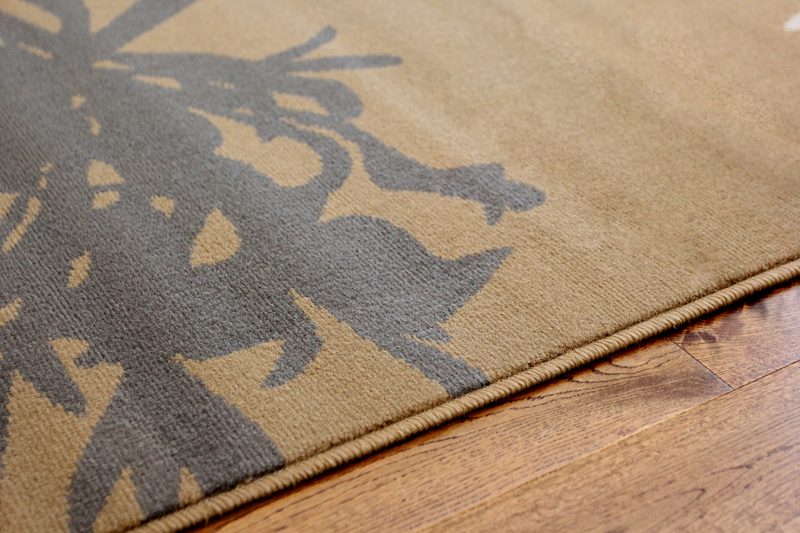 Grey Tan And Brown Area Rug: Brown Beige And Grey Dandelion Rug Plain Muted