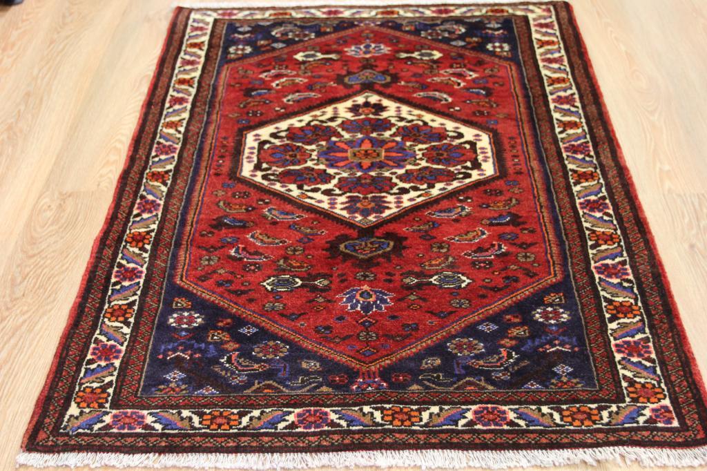 Peque o antiguo oriental handmade lana alfombra alta for Tejido persa