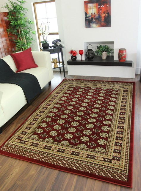 red soft thick classic style living room small large cheap carpet rugs