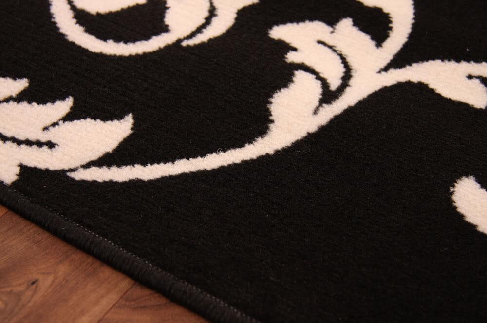 flur l ufer schmal lang kurz modern schwarz elfenbein. Black Bedroom Furniture Sets. Home Design Ideas